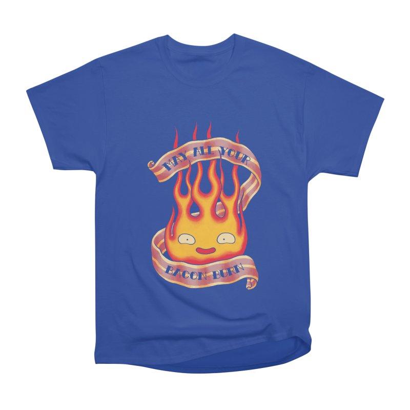 Bacon Burner Women's Heavyweight Unisex T-Shirt by spike00