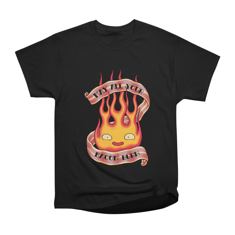 Bacon Burner Women's Heavyweight Unisex T-Shirt by spike00