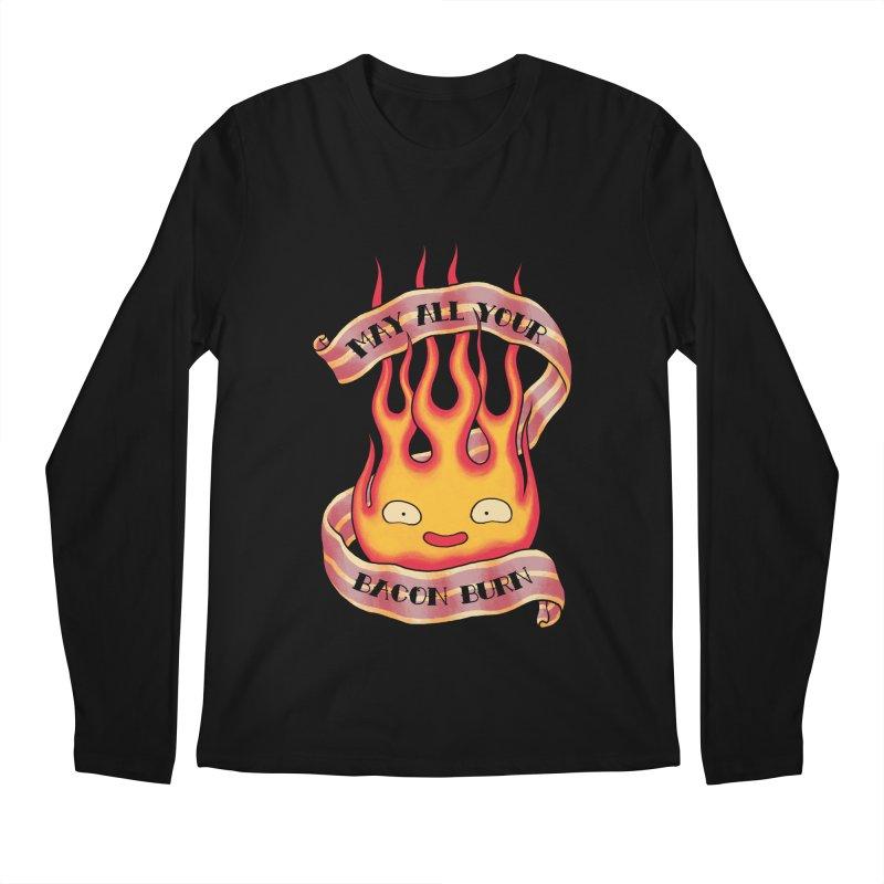 Bacon Burner Men's Regular Longsleeve T-Shirt by spike00