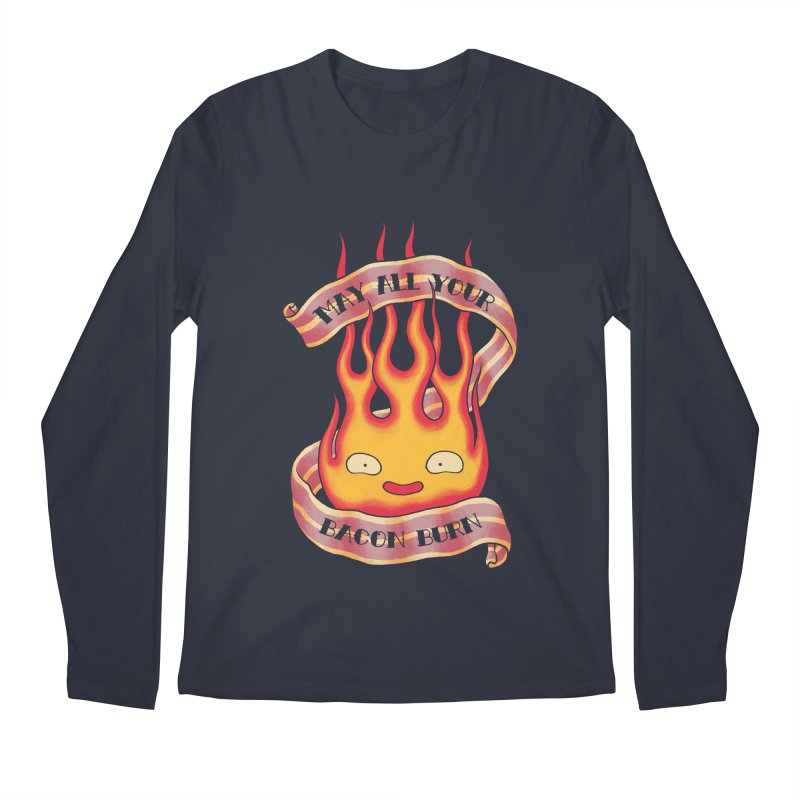 Bacon Burner Men's Regular Longsleeve T-Shirt by spike00