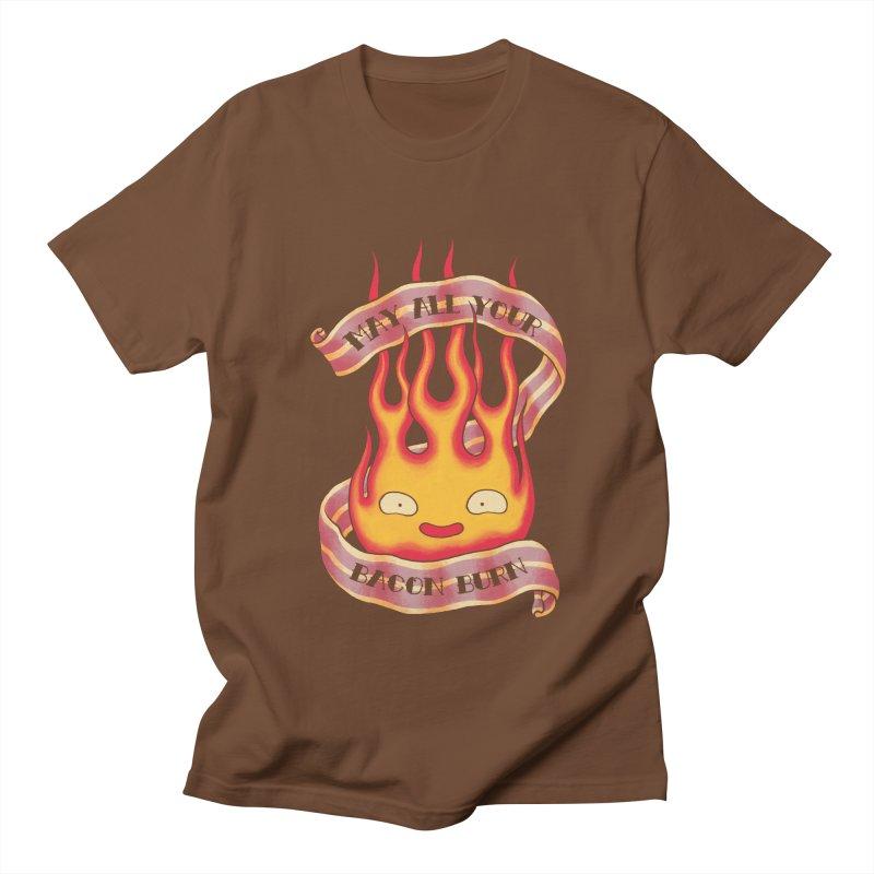 Bacon Burner Men's Regular T-Shirt by spike00
