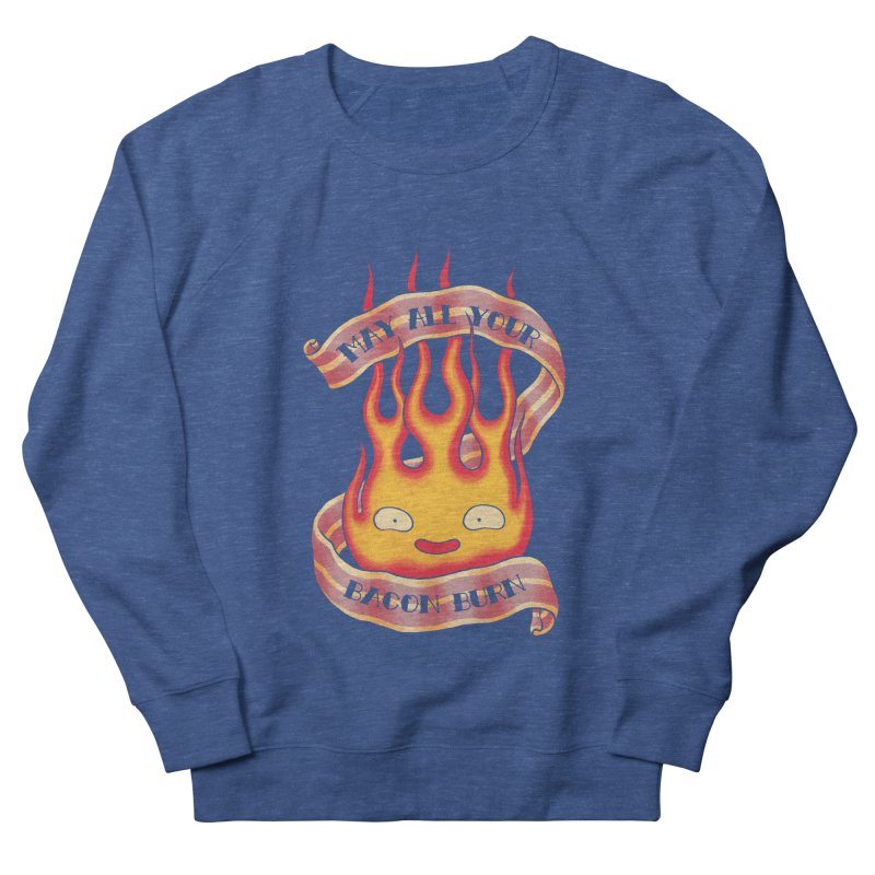 Bacon Burner Men's French Terry Sweatshirt by spike00