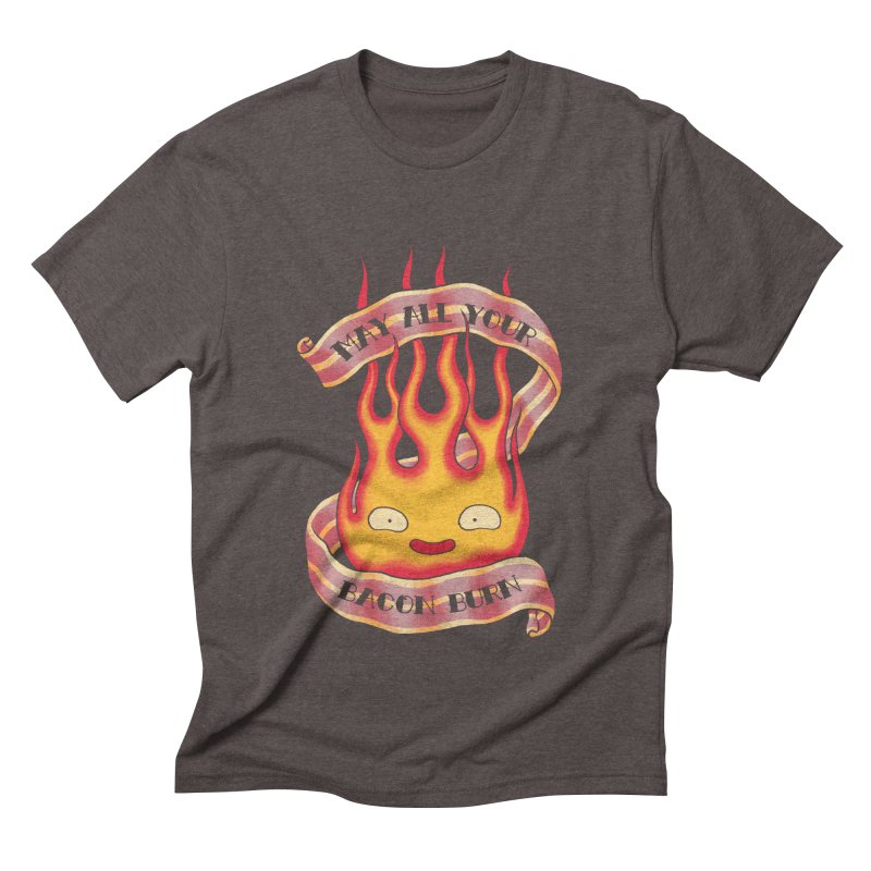 Bacon Burner Men's Triblend T-Shirt by spike00