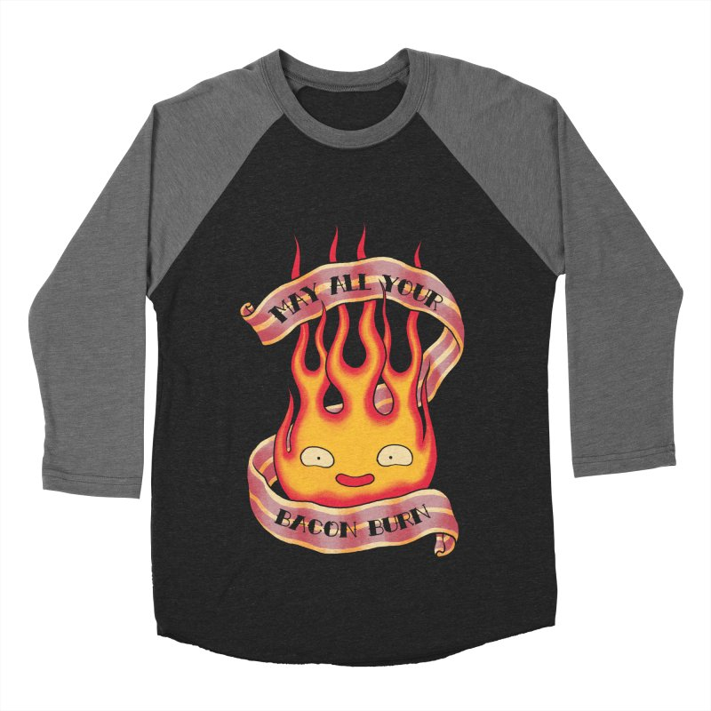 Bacon Burner Men's Baseball Triblend Longsleeve T-Shirt by spike00