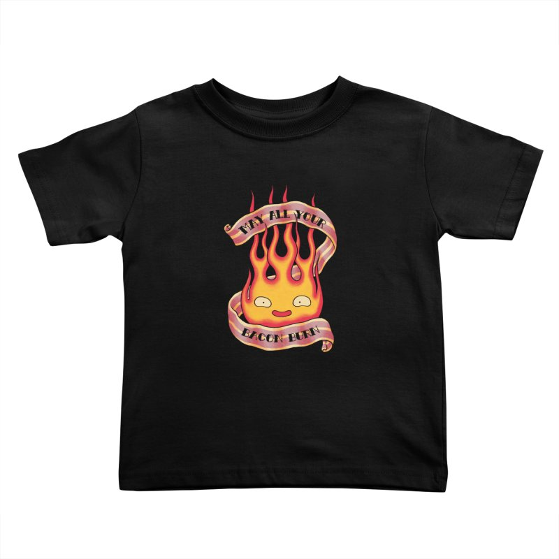 Bacon Burner Kids Toddler T-Shirt by spike00