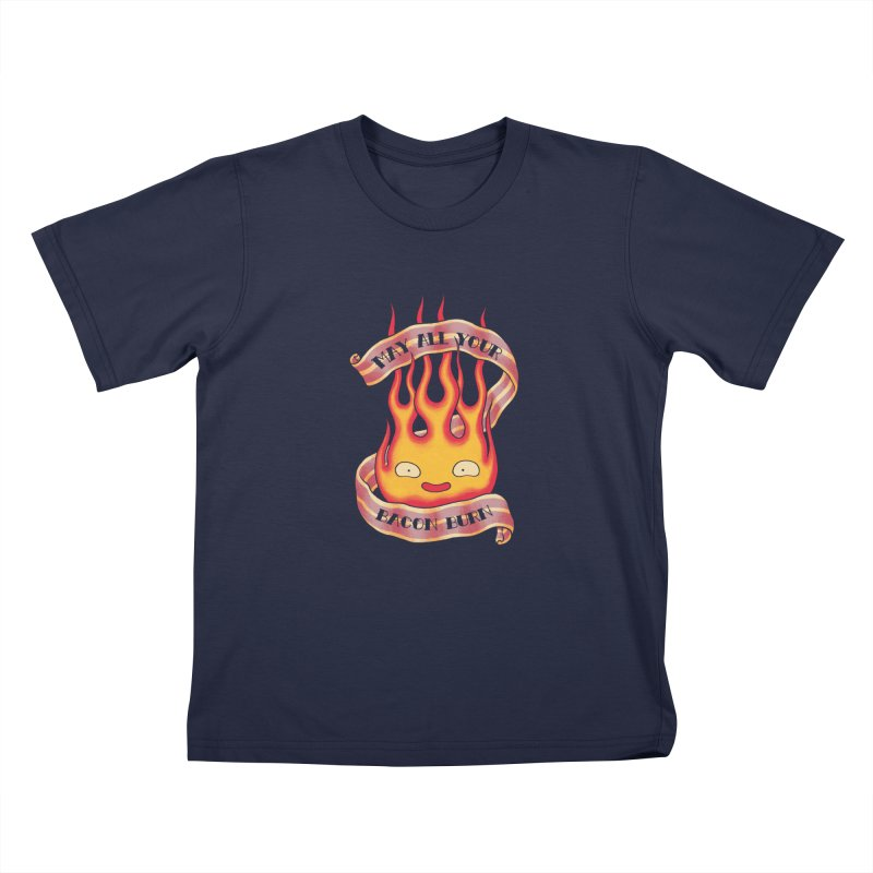 Bacon Burner Kids T-Shirt by spike00