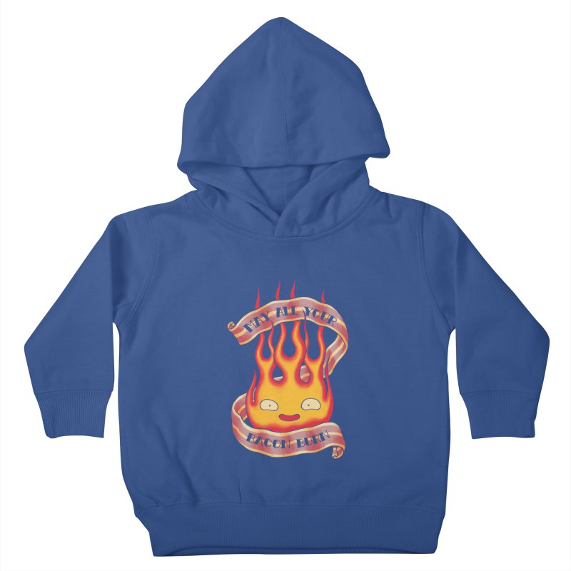 Bacon Burner Kids Toddler Pullover Hoody by spike00