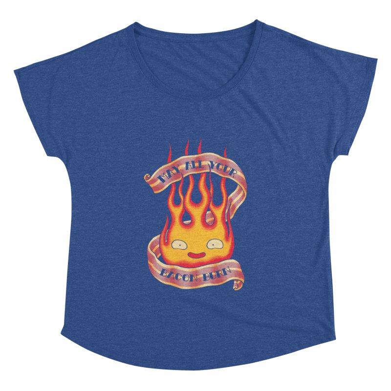 Bacon Burner Women's Dolman Scoop Neck by spike00