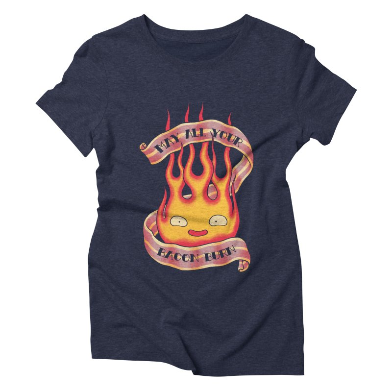 Bacon Burner Women's Triblend T-Shirt by spike00