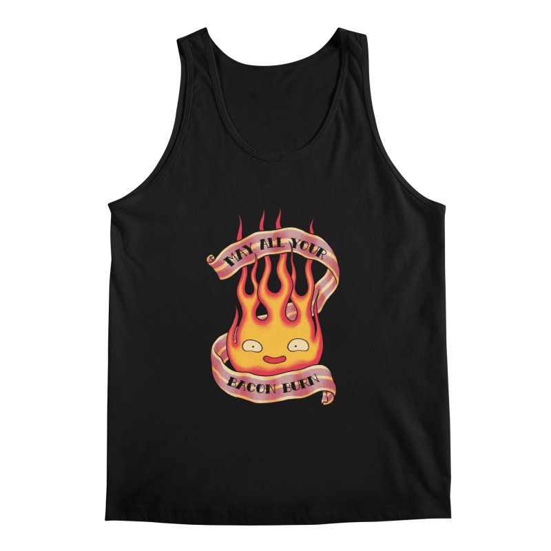 Bacon Burner Men's Regular Tank by spike00