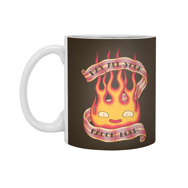 Bacon Burner Accessories Standard Mug by spike00