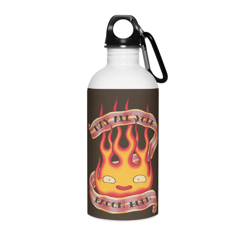 Bacon Burner Accessories Water Bottle by spike00
