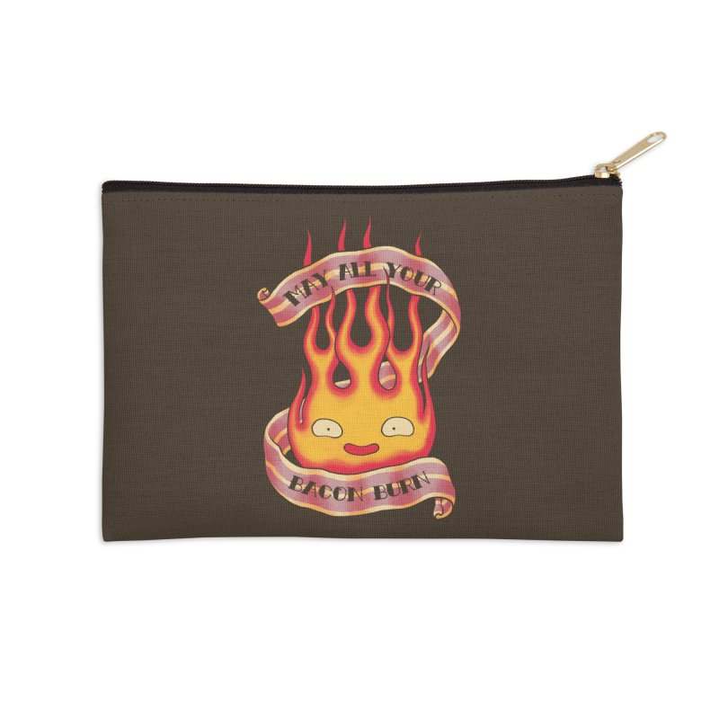 Bacon Burner Accessories Zip Pouch by spike00