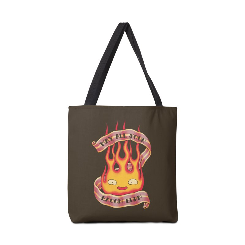 Bacon Burner Accessories Tote Bag Bag by spike00