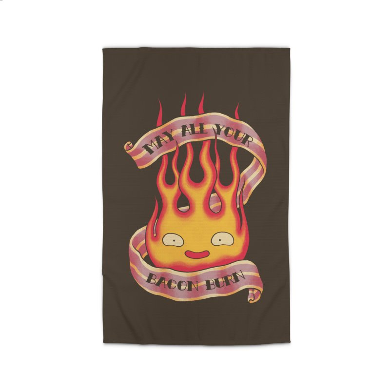 Bacon Burner Home Rug by spike00