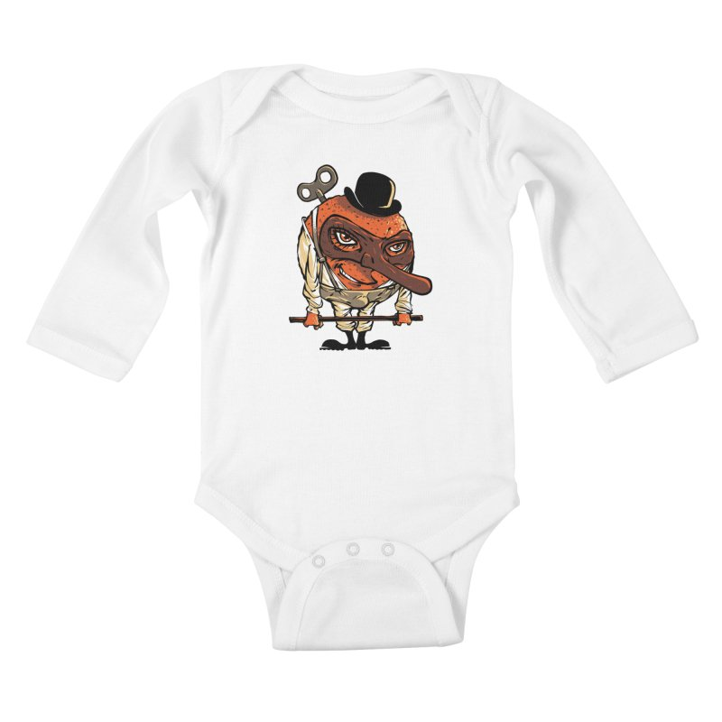 Juicy Ultraviolence Kids Baby Longsleeve Bodysuit by spike00