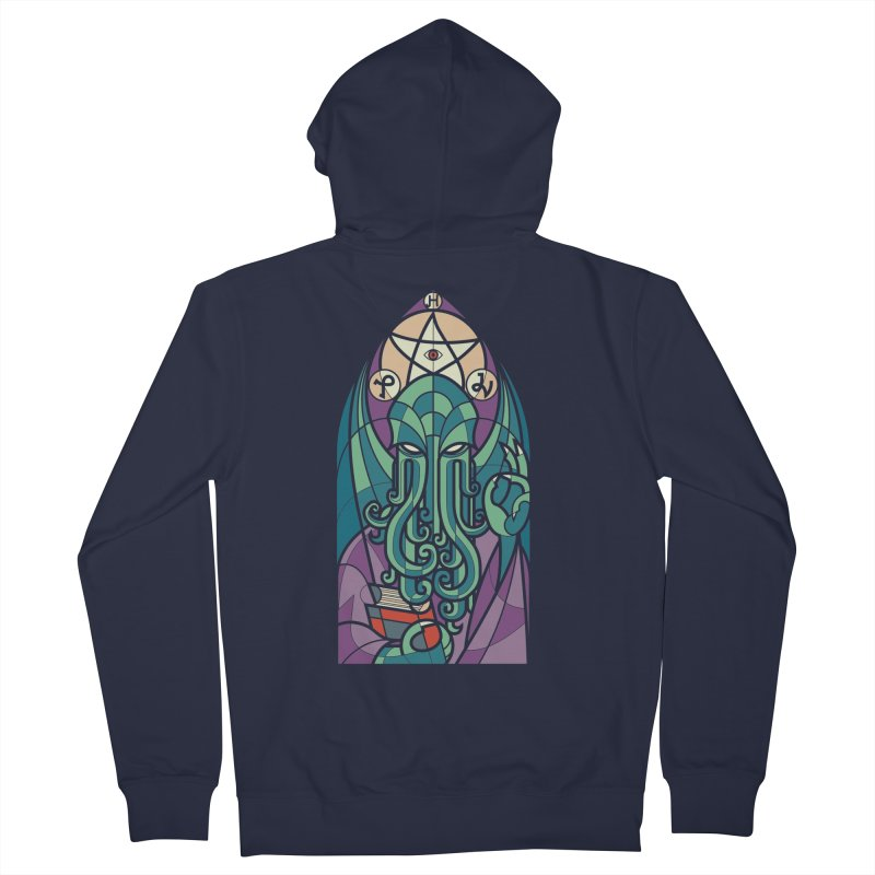 Cthulhu's Church Men's Zip-Up Hoody by spike00