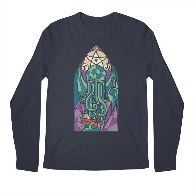 Cthulhu's Church Men's Regular Longsleeve T-Shirt by spike00