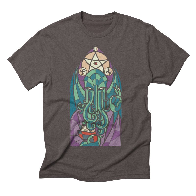 Cthulhu's Church Men's Triblend T-shirt by spike00