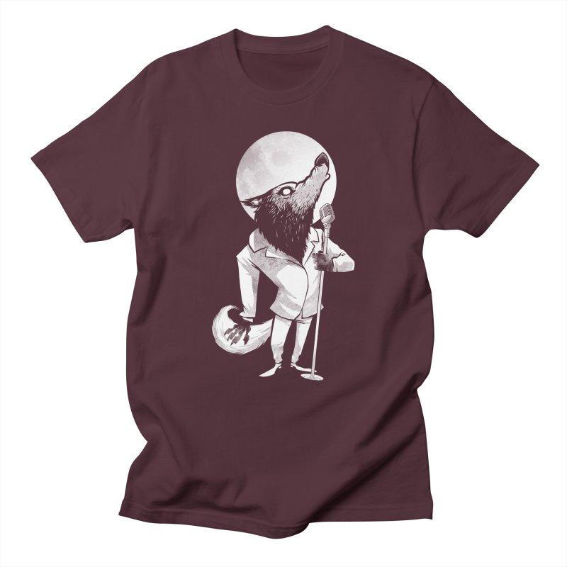 Moonlight serenade Men's Regular T-Shirt by spike00