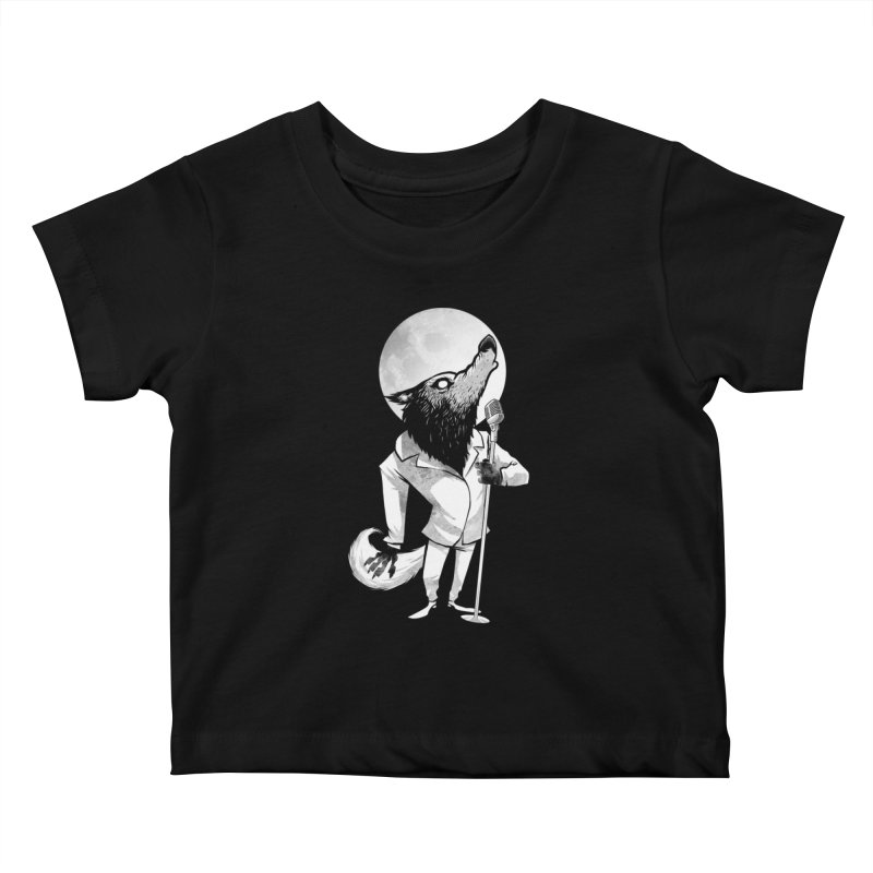 Moonlight serenade Kids Baby T-Shirt by spike00