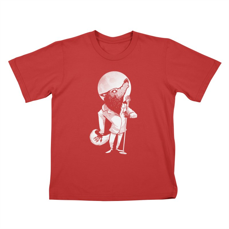 Moonlight serenade Kids T-Shirt by spike00