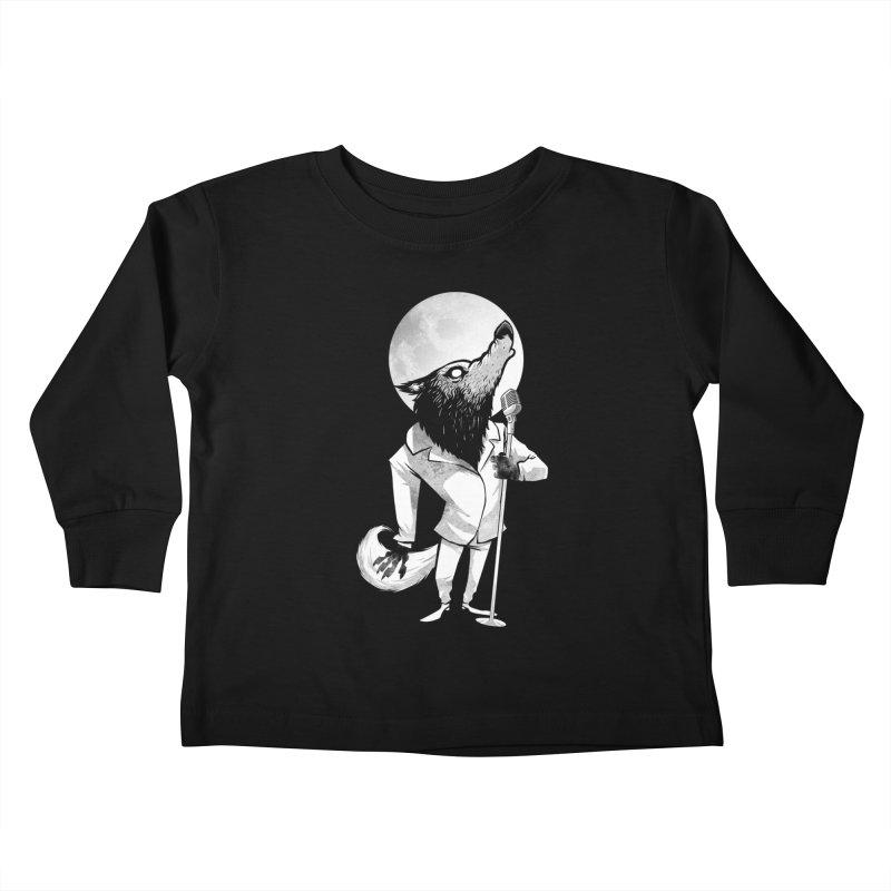 Moonlight serenade Kids Toddler Longsleeve T-Shirt by spike00