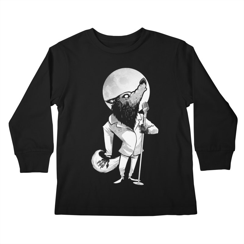 Moonlight serenade Kids Longsleeve T-Shirt by spike00