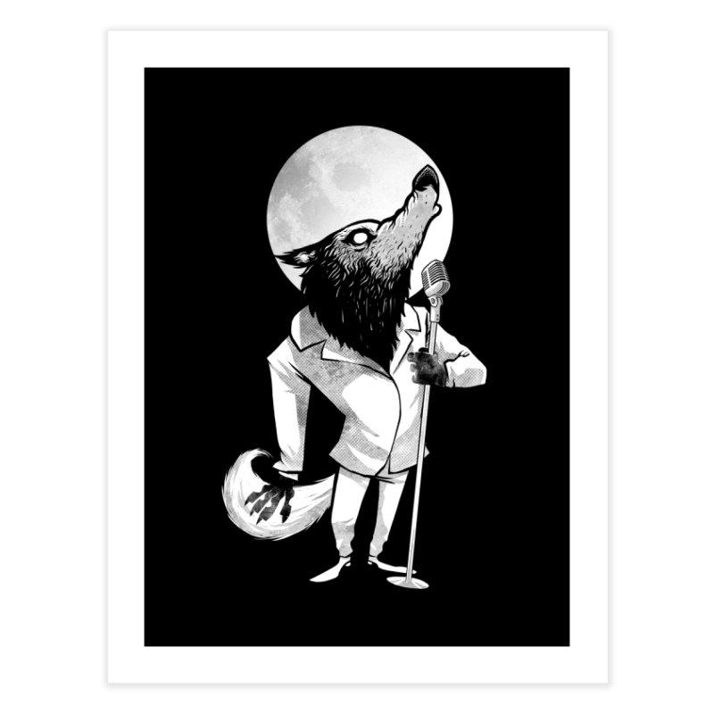 Moonlight serenade Home Fine Art Print by spike00