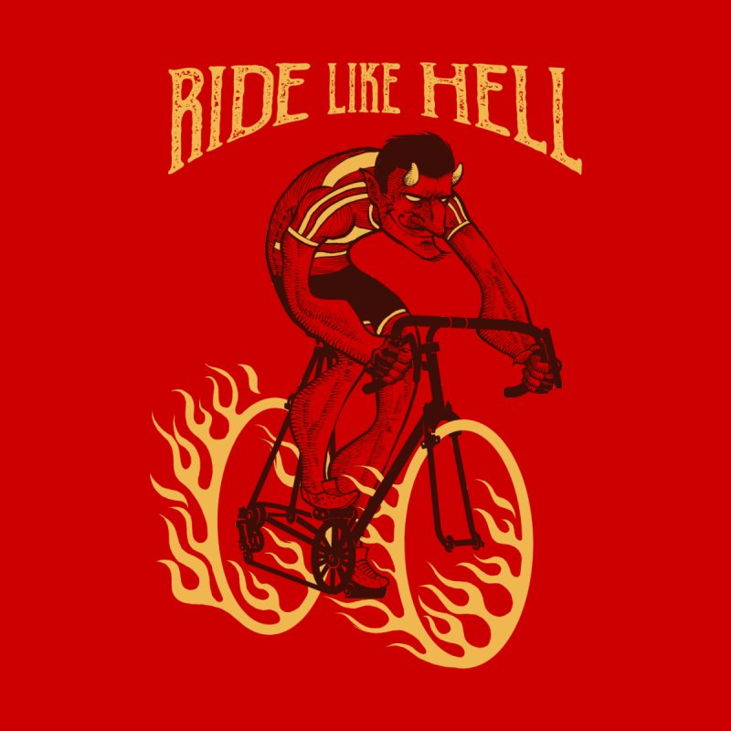 Ride like Hell Home Mounted Aluminum Print by spike00