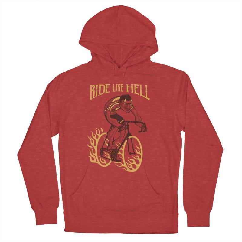 Ride like Hell Men's Pullover Hoody by spike00