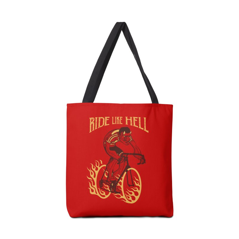 Ride like Hell Accessories Tote Bag Bag by spike00