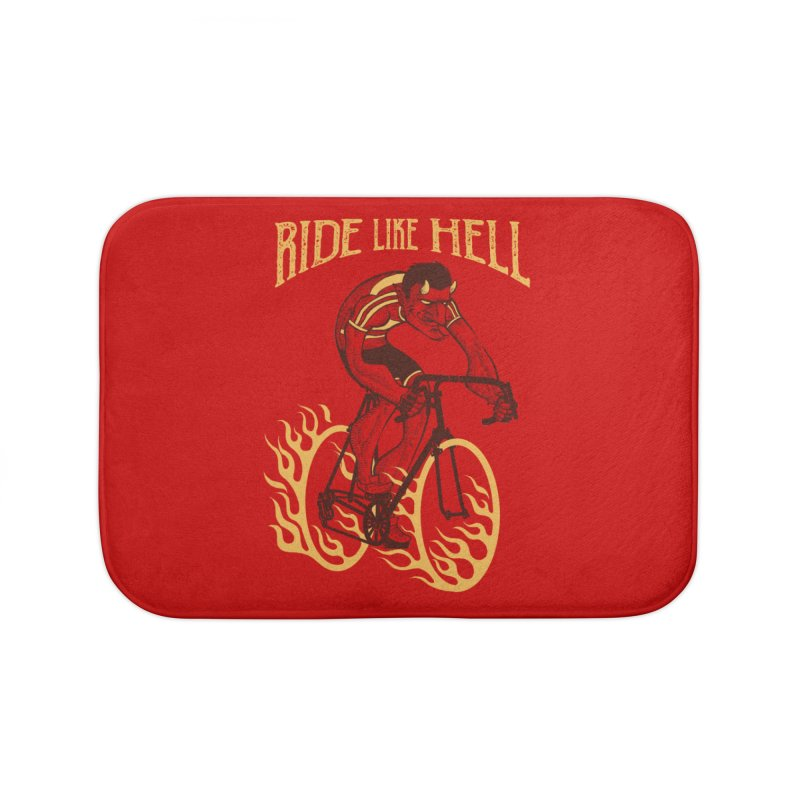 Ride like Hell Home Bath Mat by spike00