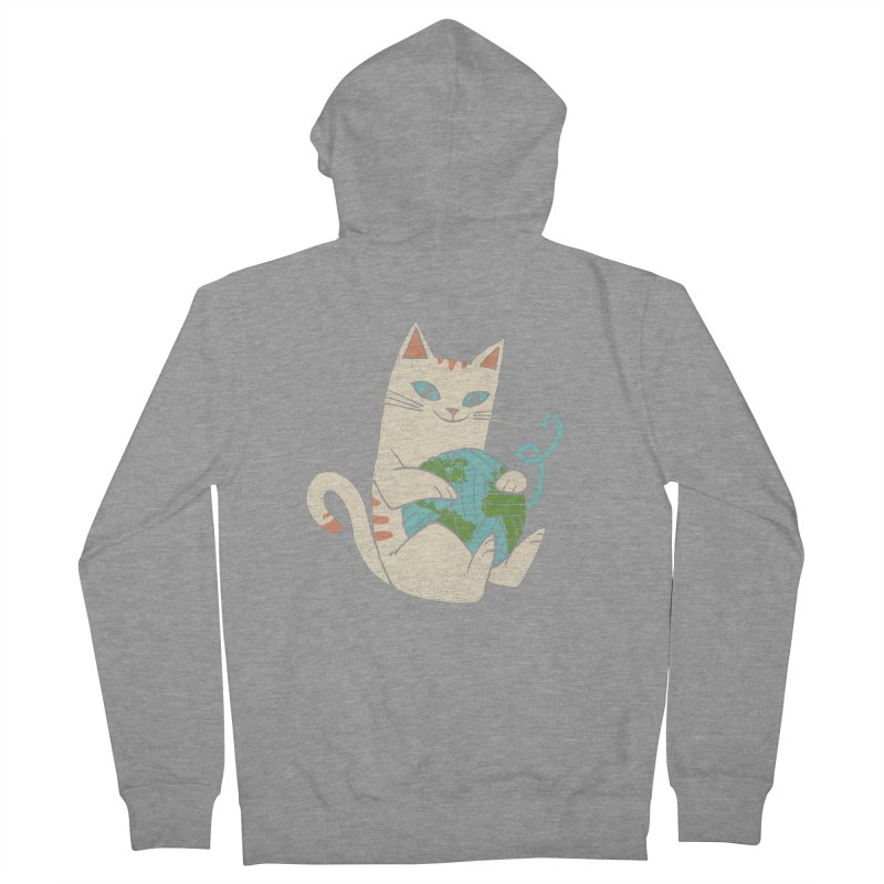 The Wool is mine Women's French Terry Zip-Up Hoody by spike00