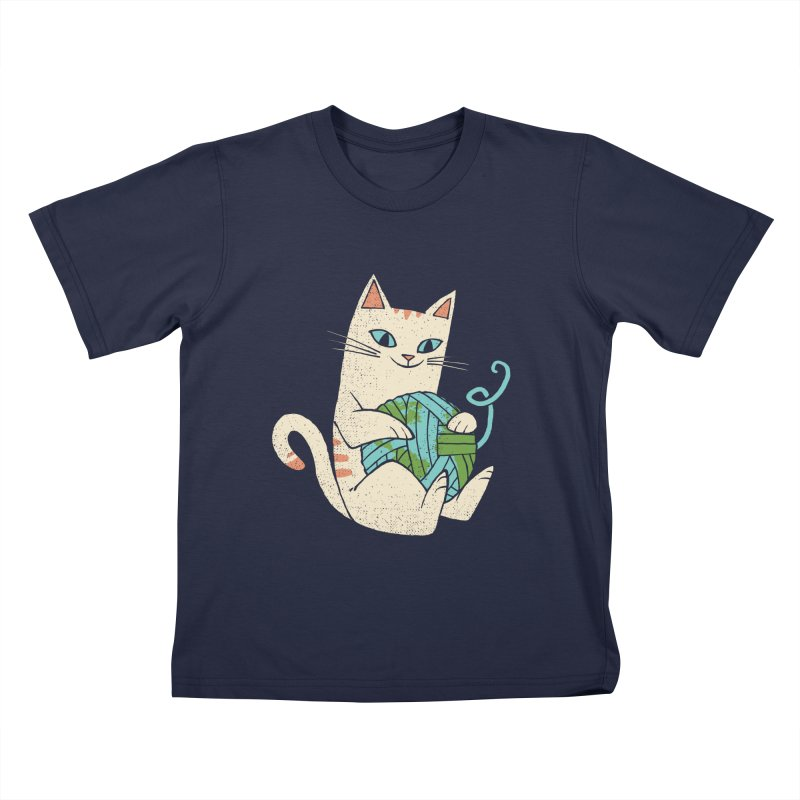The Wool is mine Kids T-Shirt by spike00