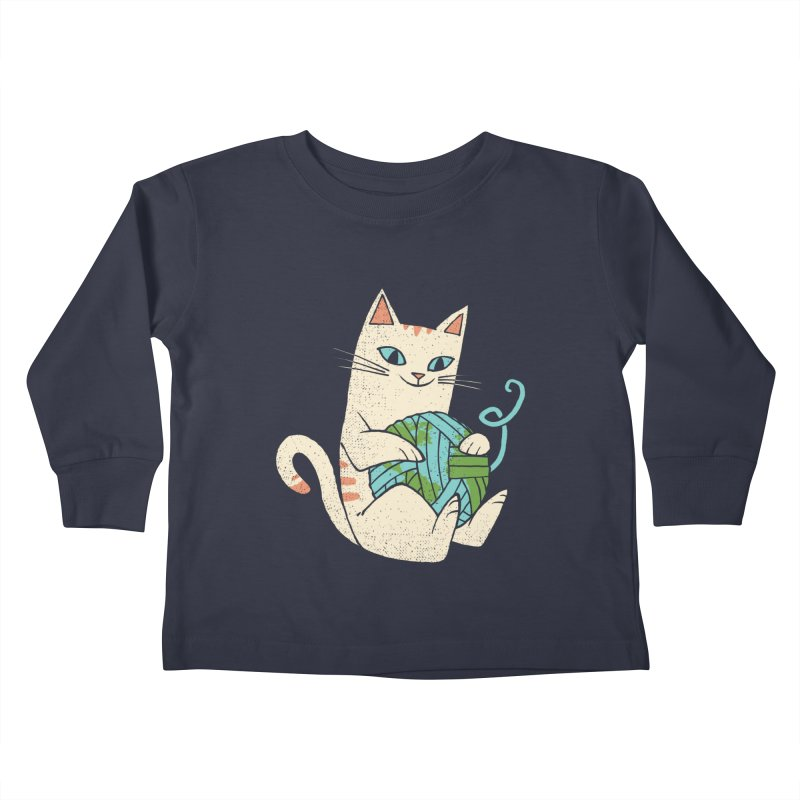 The Wool is mine Kids Toddler Longsleeve T-Shirt by spike00