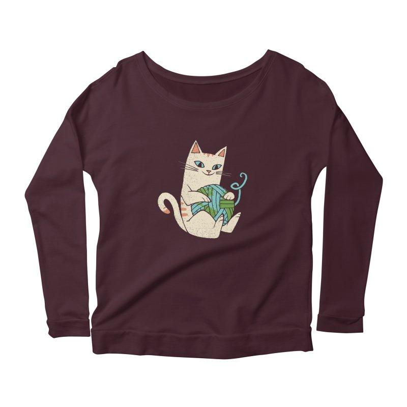 The Wool is mine Women's Scoop Neck Longsleeve T-Shirt by spike00