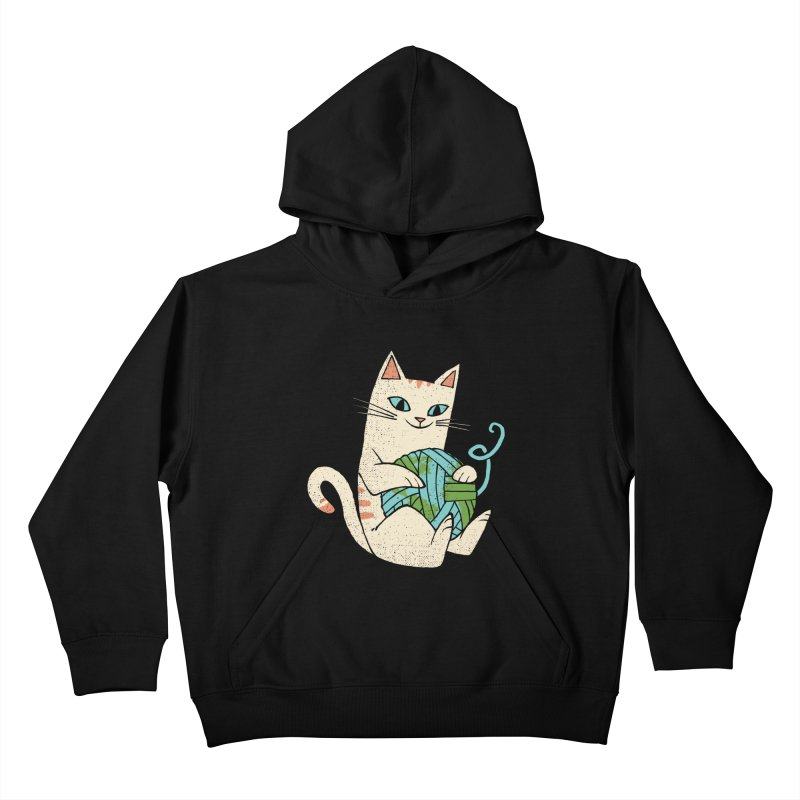 The Wool is mine Kids Pullover Hoody by spike00