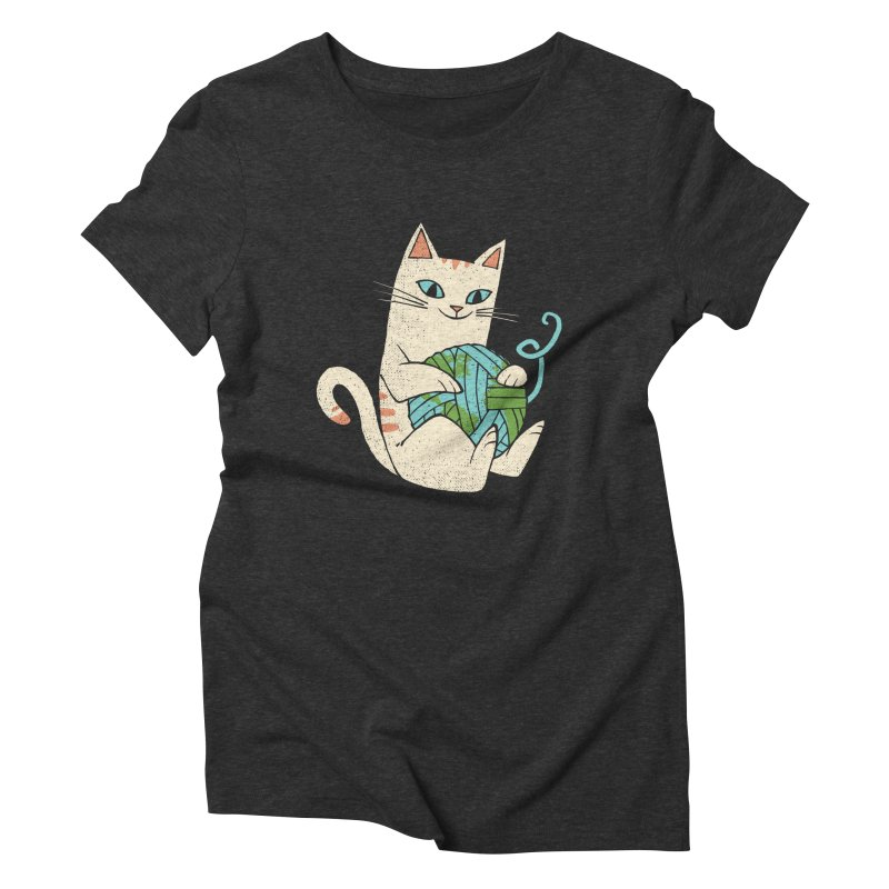 The Wool is mine Women's Triblend T-Shirt by spike00