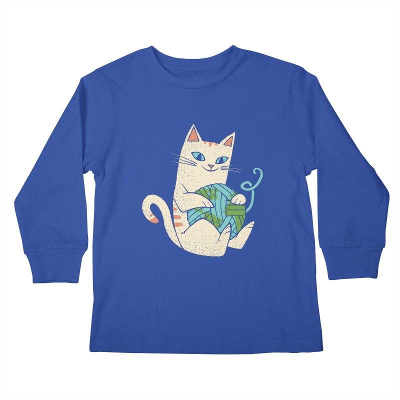 The Wool is mine Kids Longsleeve T-Shirt by spike00