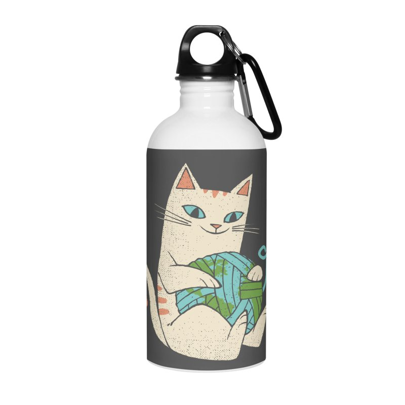The Wool is mine Accessories Water Bottle by spike00