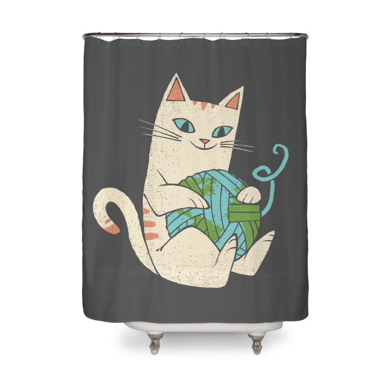 The Wool is mine Home Shower Curtain by spike00