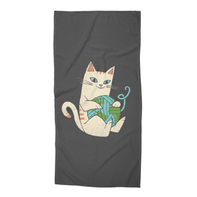 The Wool is mine Accessories Beach Towel by spike00