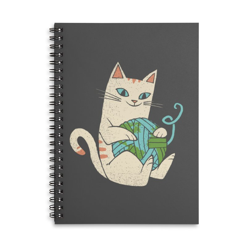 The Wool is mine Accessories Lined Spiral Notebook by spike00