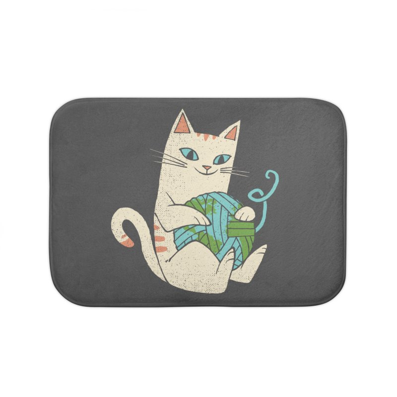 The Wool is mine Home Bath Mat by spike00