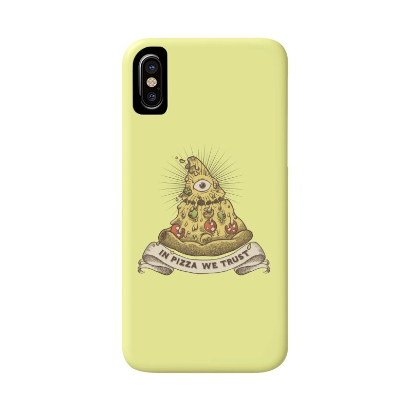 in Pizza we trust Accessories Phone Case by spike00