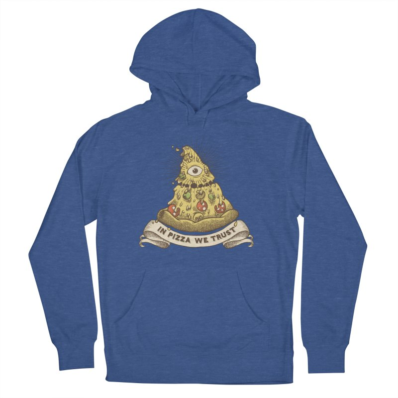 in Pizza we trust Women's French Terry Pullover Hoody by spike00