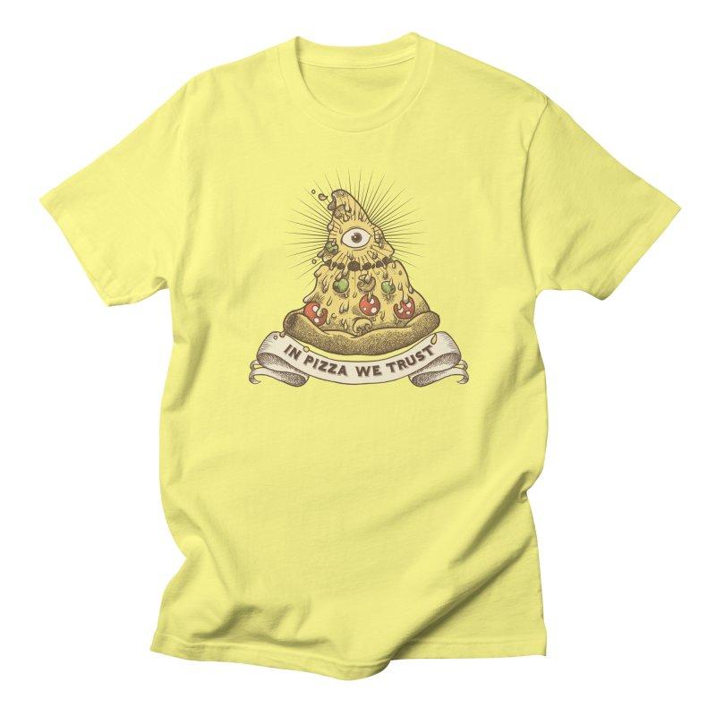 in Pizza we trust Women's Unisex T-Shirt by spike00