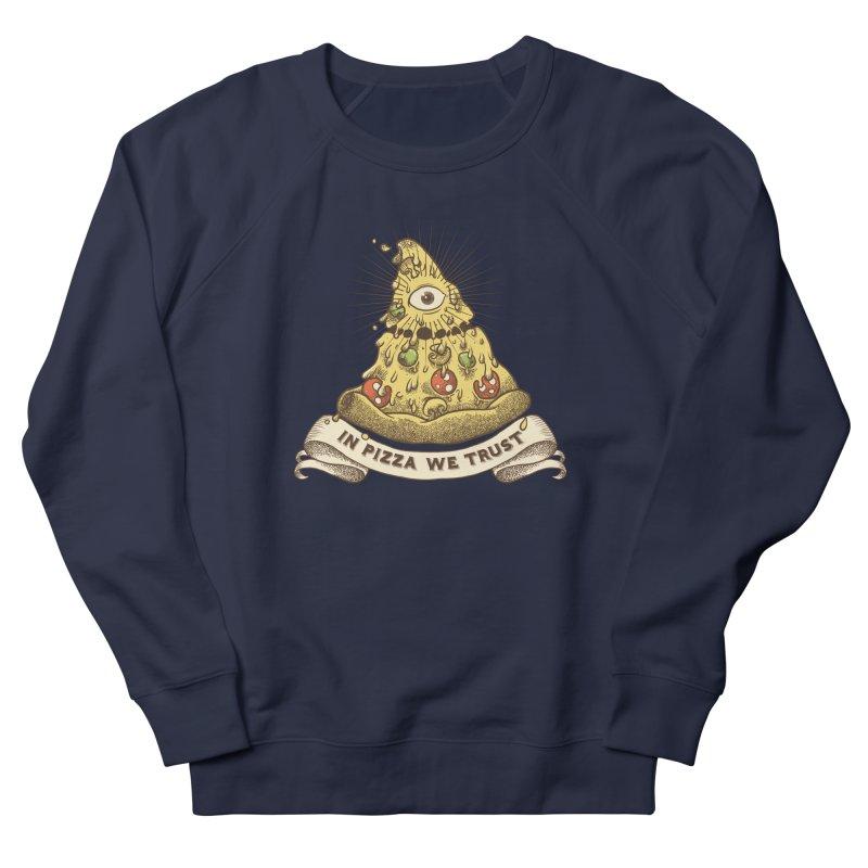 in Pizza we trust Women's Sweatshirt by spike00