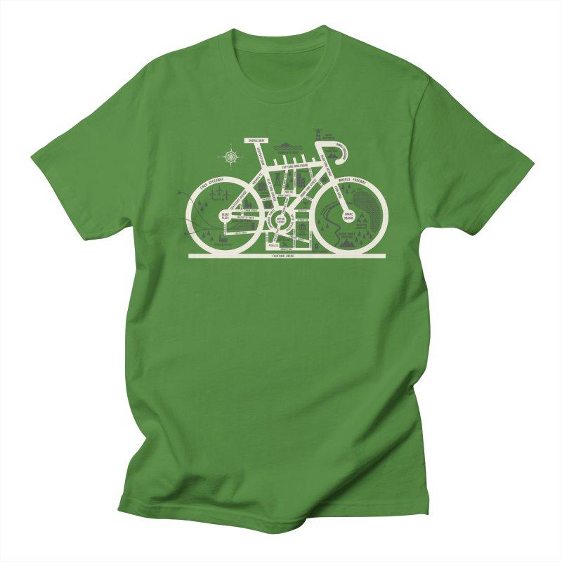 Bike City Map Women's Regular Unisex T-Shirt by spike00